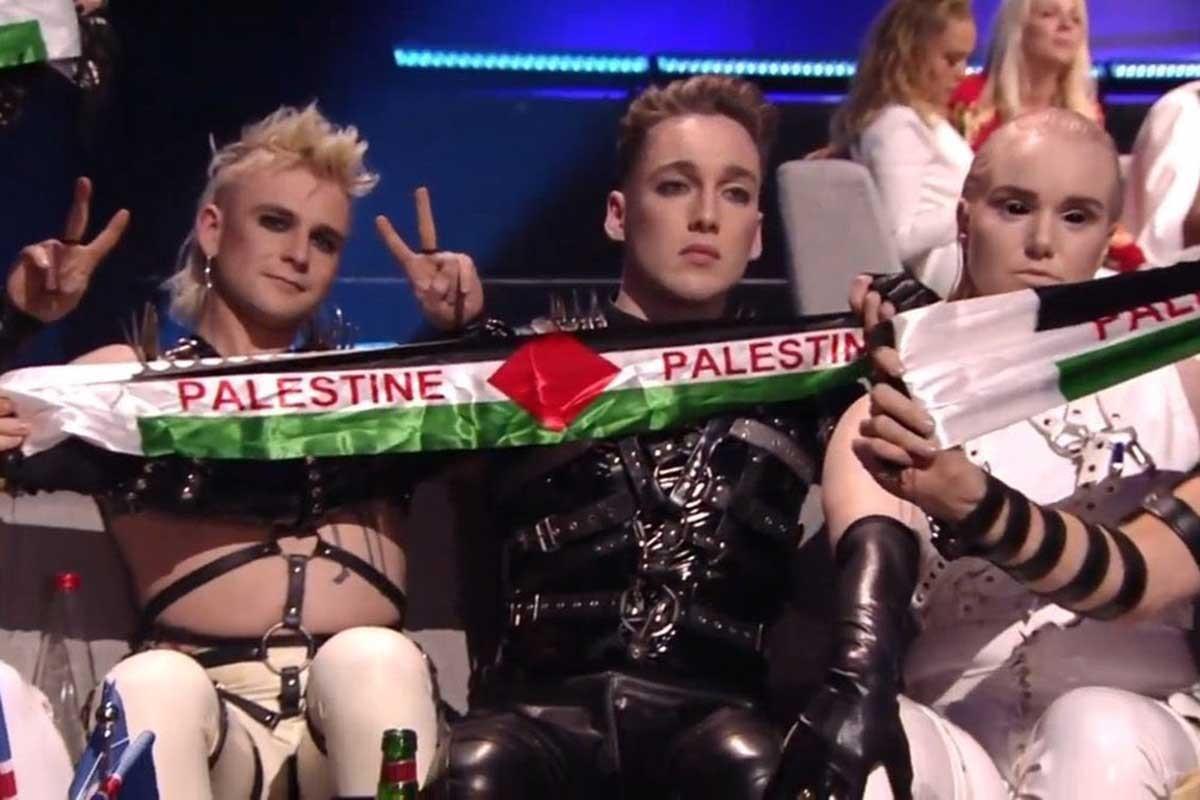 İsrail'deki Eurovision'da Madonna ve İzlanda'dan Filistin mesajı
