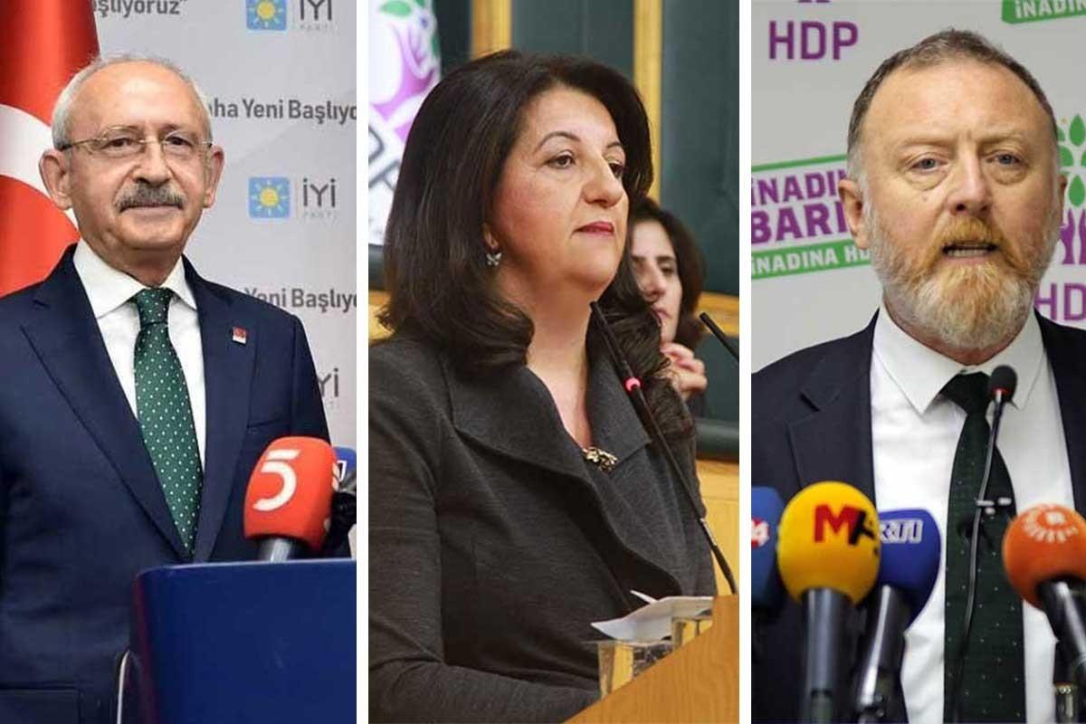 Kılıçdaroğlu, Buldan ve Temelli dahil 25 vekilin fezlekesi Mecliste