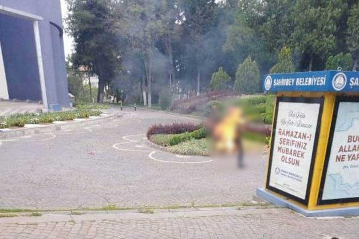Antep'te işe alınmadığı için kendini yakan yurttaş hayatını kaybetti