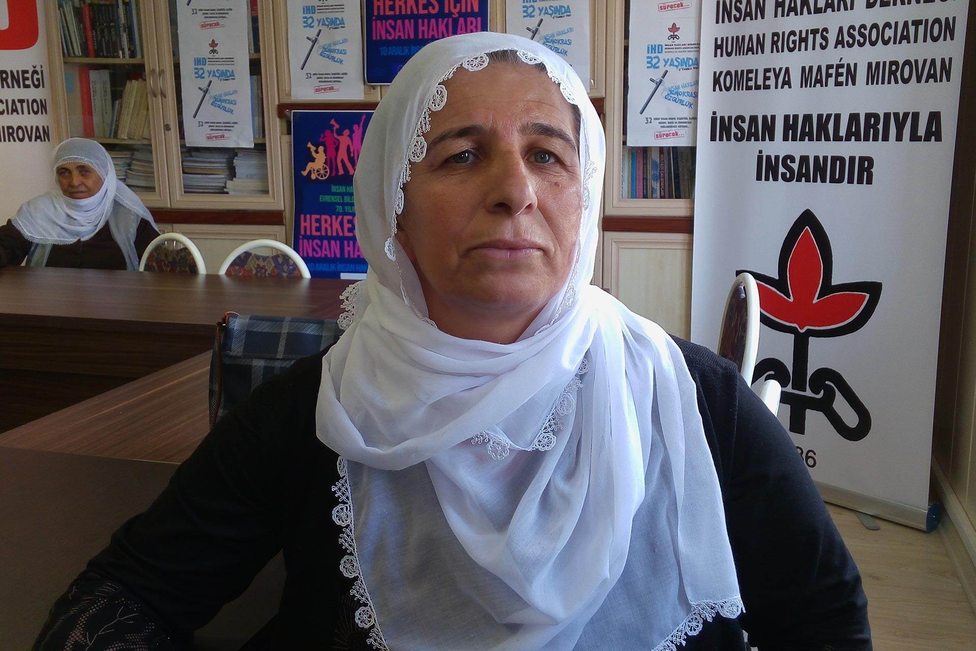 Diyarbakır'dan Ankara'ya gelen Yessure Tufan, beş ayı aşkın süredir sokaklarda olduklarını belirtiyor