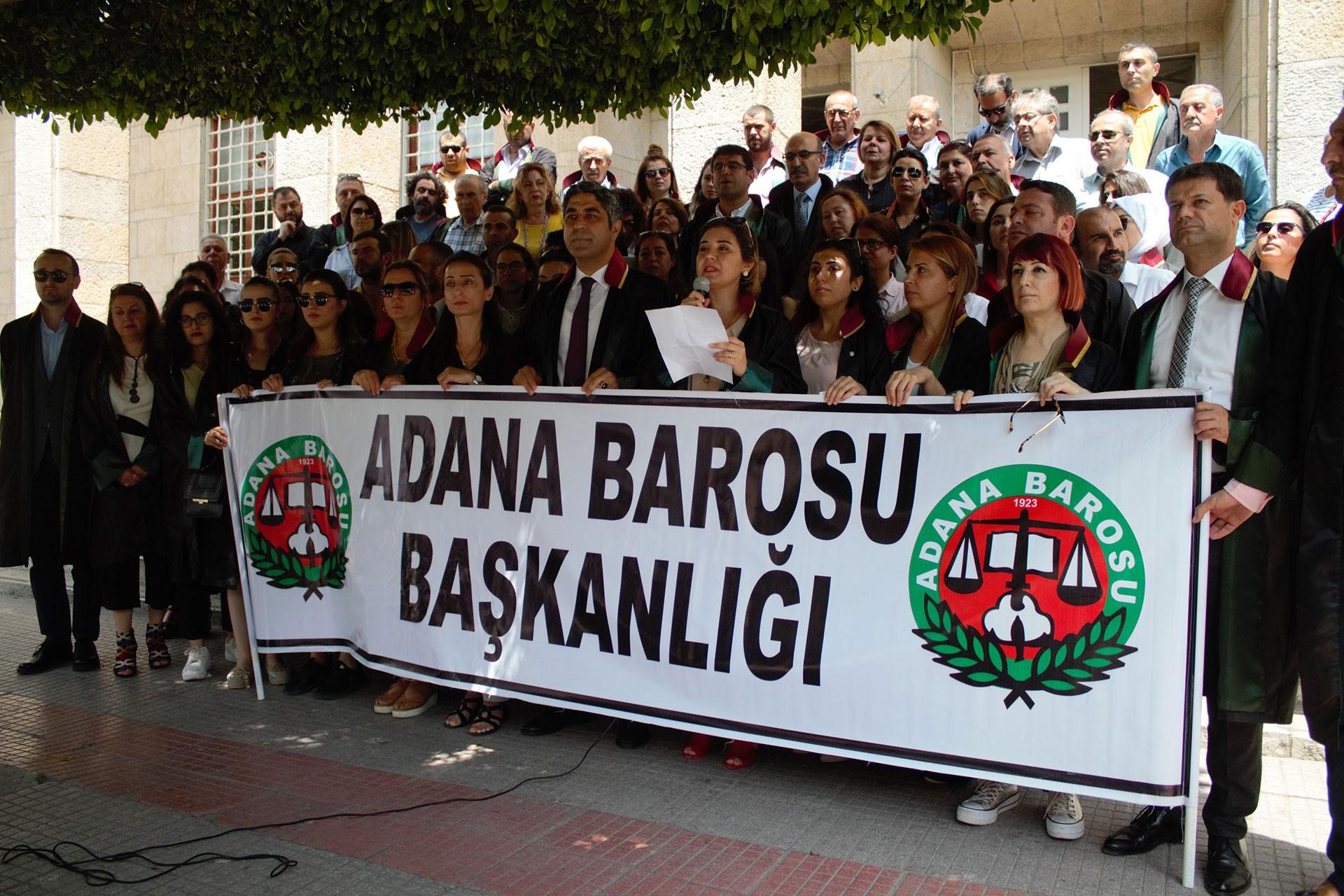 Adana Barosundan Müzeyyen Boylu cinayetine tepki