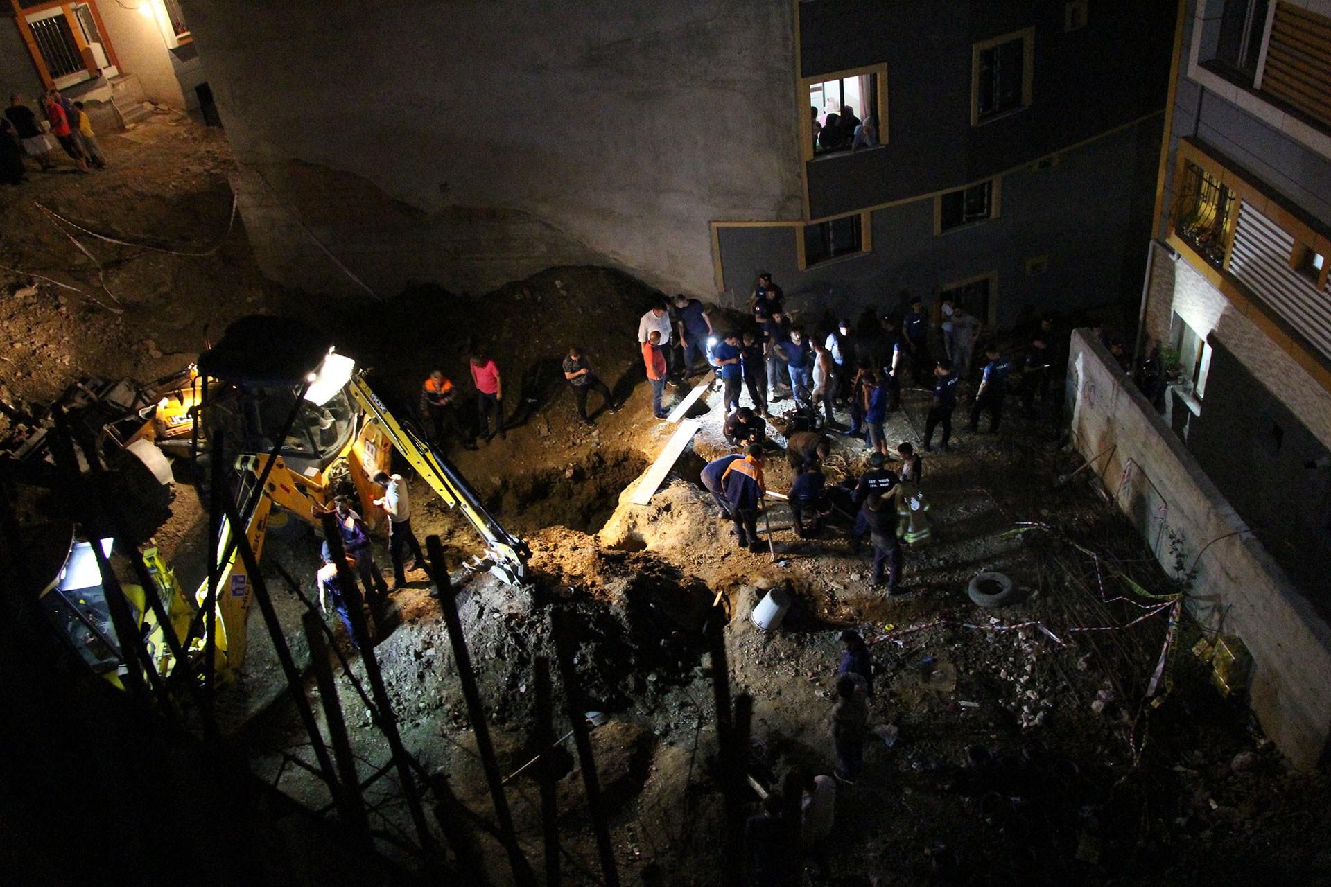 İstanbul'da inşaat çukuruna düşen 8 yaşındaki çocuk hayatını kaybetti