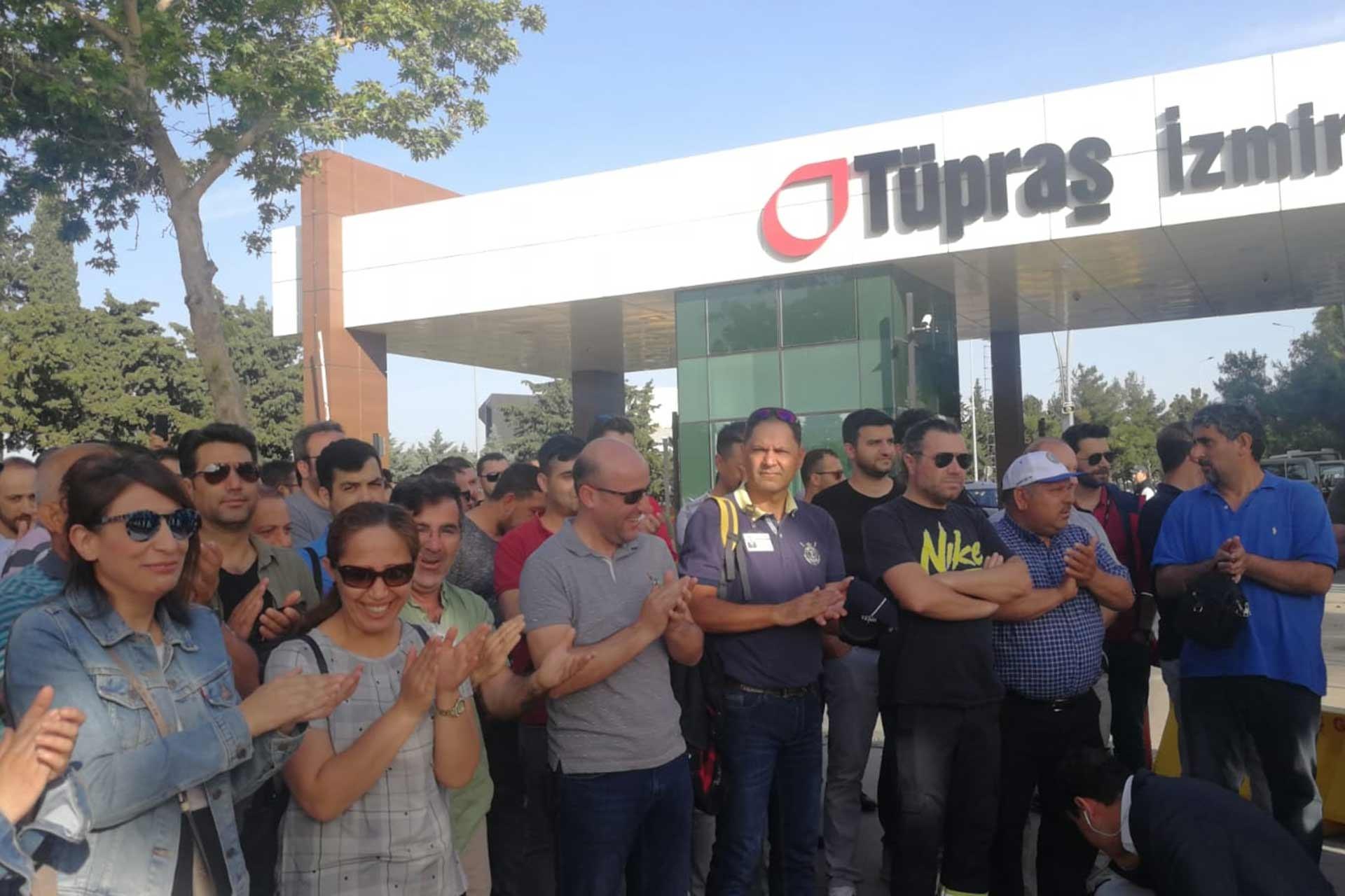 TÜPRAŞ, Divan işçileri davası ve Koç Holding