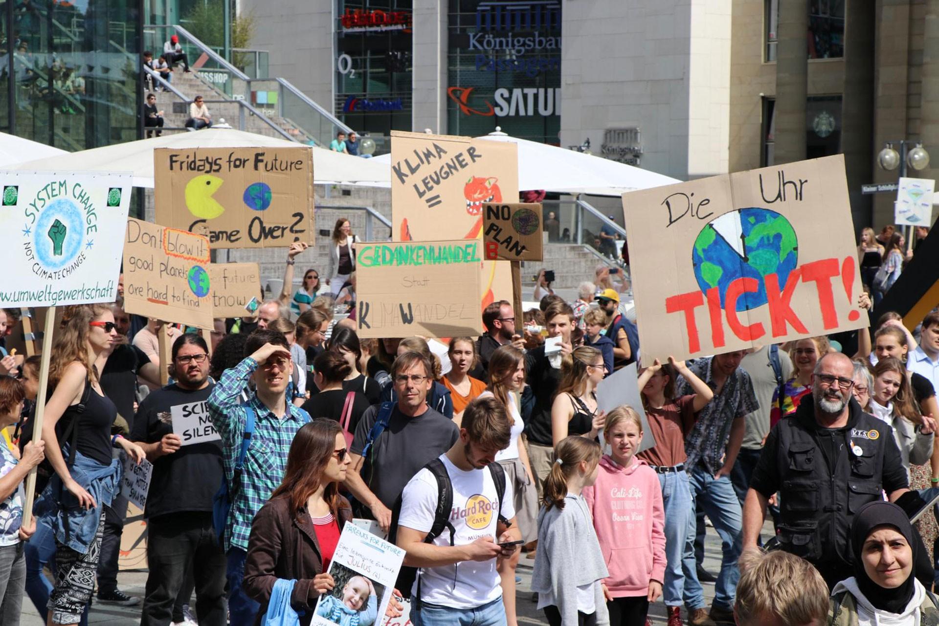 Küresel İklim Boykotu: 125 ülke, 1600 merkez, 2 milyona yakın katılımcı