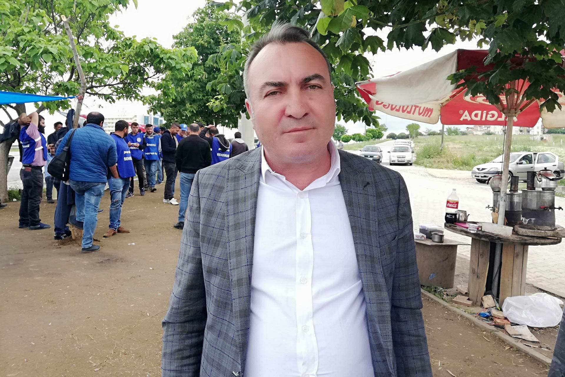 Petrol-İş Mali Sekreteri Turgut Düşova