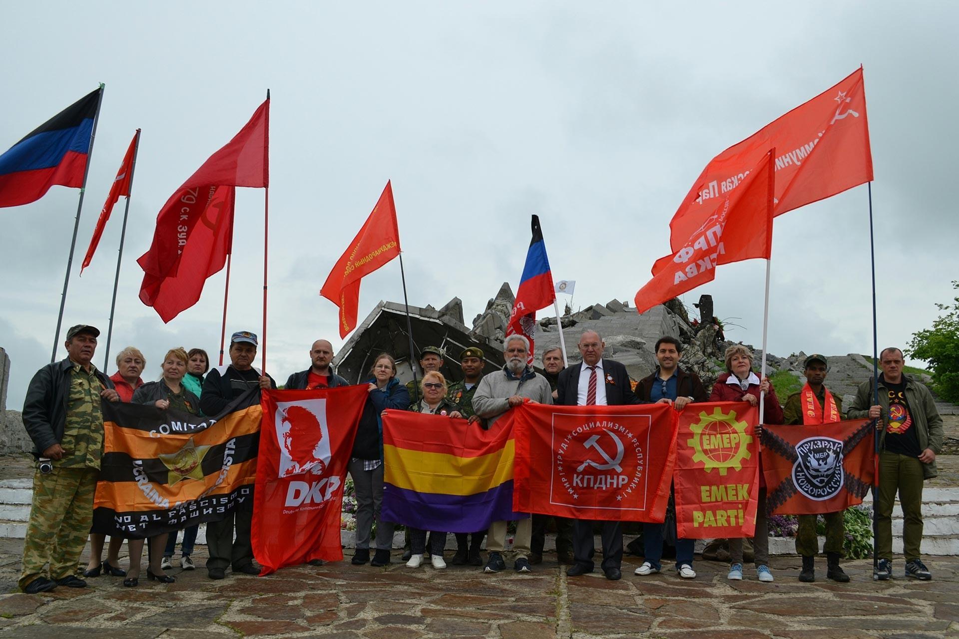 Donbass'ta antifaşist forum: Uluslararası mücadelenin önemi artıyor