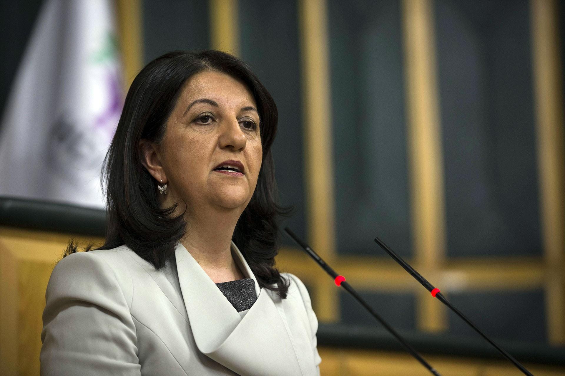 HDP Eş Genel Başkanı Pervin Buldan: Operasyon barış ve umuda saldırıdır