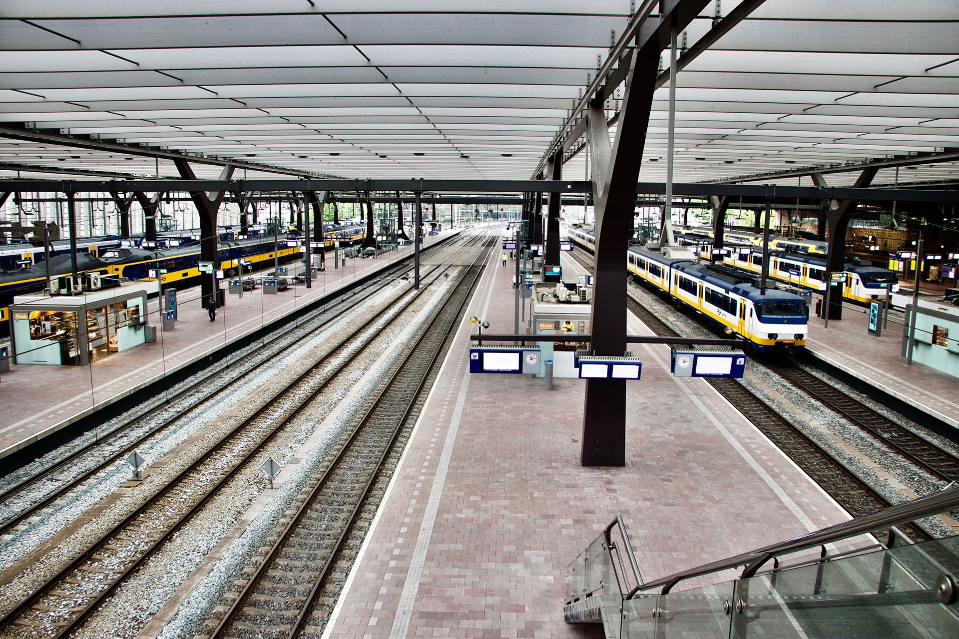 Hollanda'da emeklilik hakkı için toplu taşımacılıkta grev günü