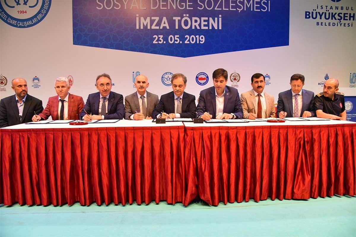 Bem-Bir-Sen'in İBB'de imzaladığı TİS'in kamera arkası!