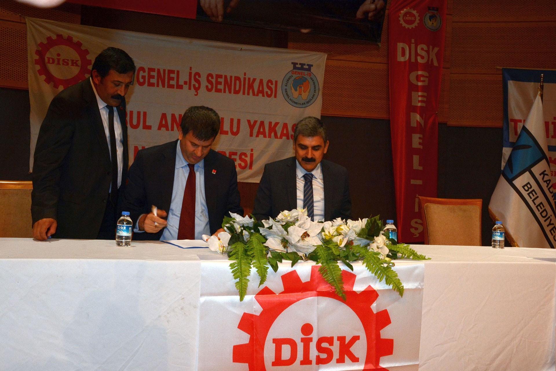 Kadıköy Belediyesinde TİS imzalandı