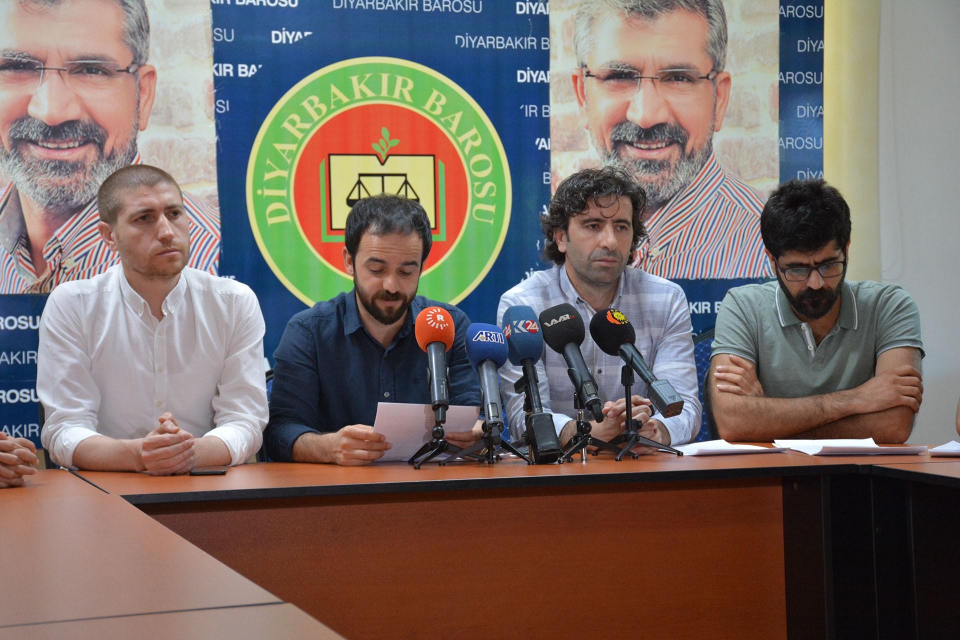 Diyarbakır Tabip Odası ve SES: Açlık grevcileri uygun koşullarda tedavi edilsin