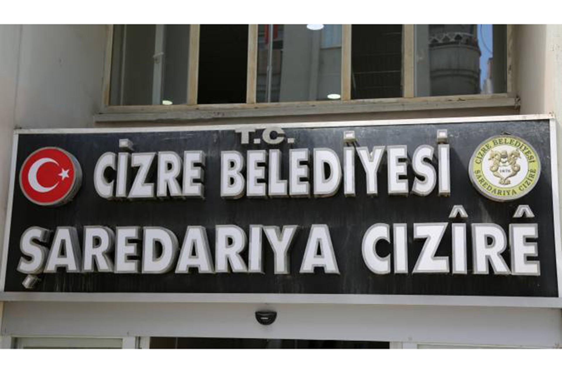 Cizre kayyumundan belediyeye 'ödenmemiş maaş' haczi