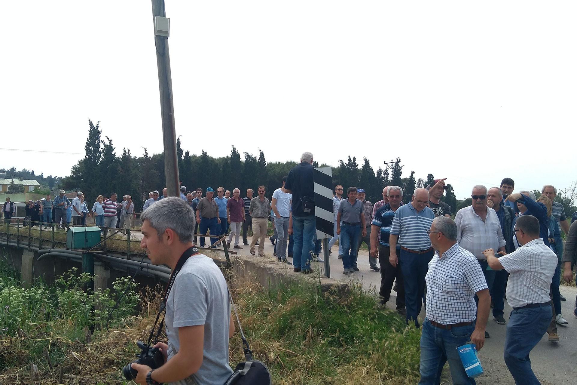 Bandırma Doğruca'da köy halkını kansere mahkum ettiler