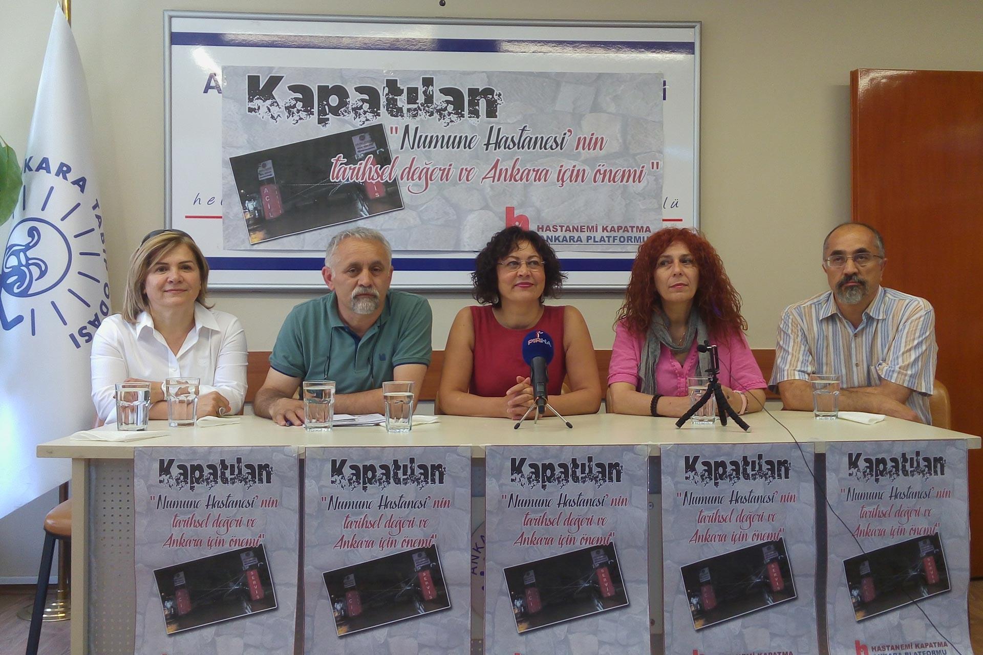 '138 yıllık Ankara Numune Hastanesi rant için kapatıldı'