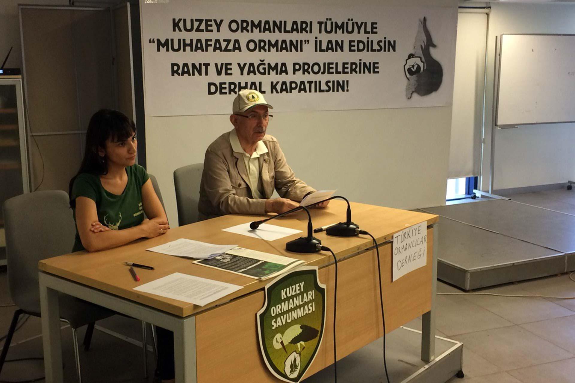 'Kuzey Ormanları 'Muhafaza Ormanı' ilan edilerek korumaya alınmalı'