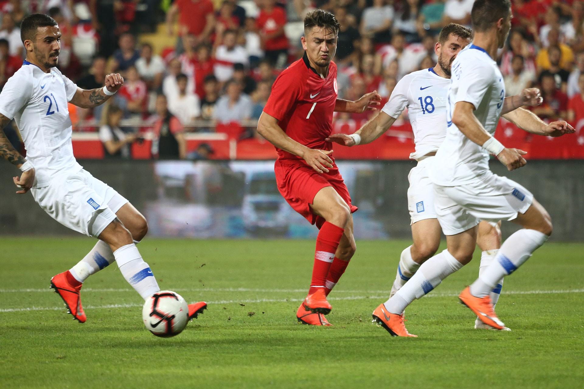 Türkiye-Yunanistan hazırlık maçı