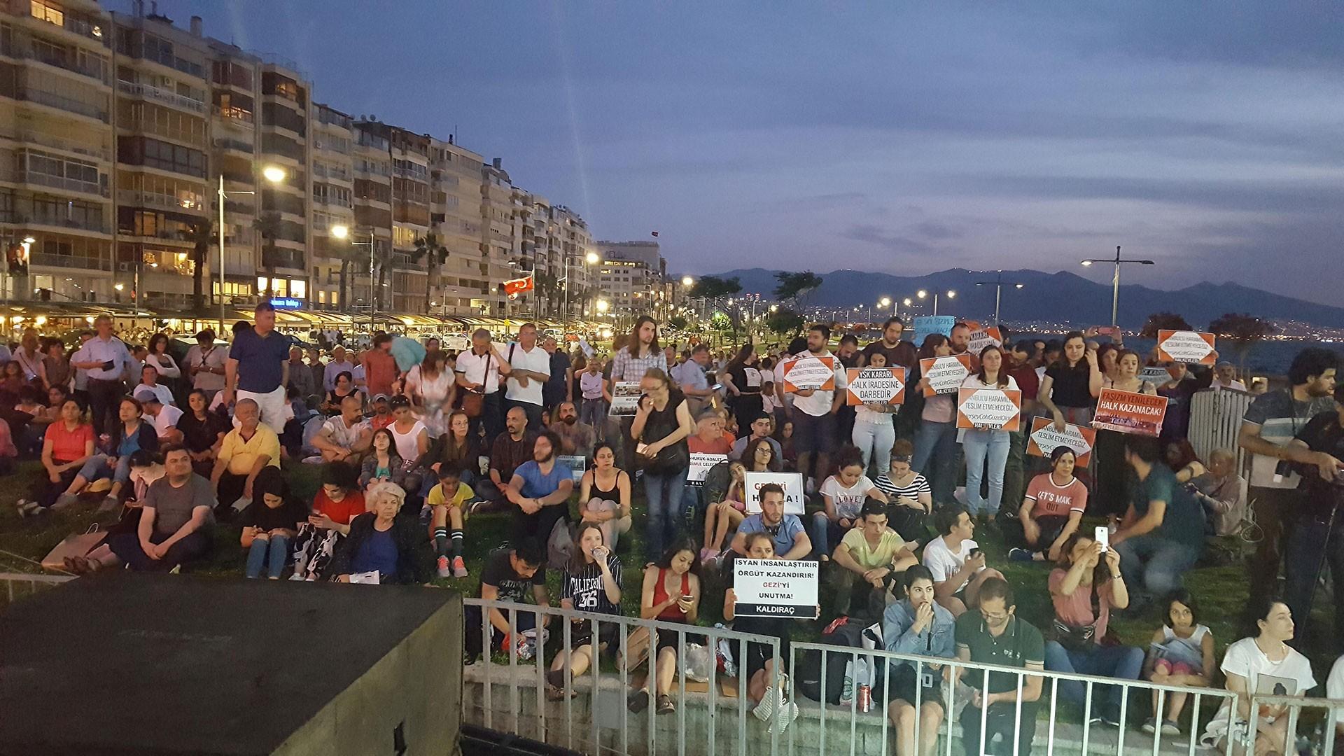 İzmir Gezi 6. yılı anma