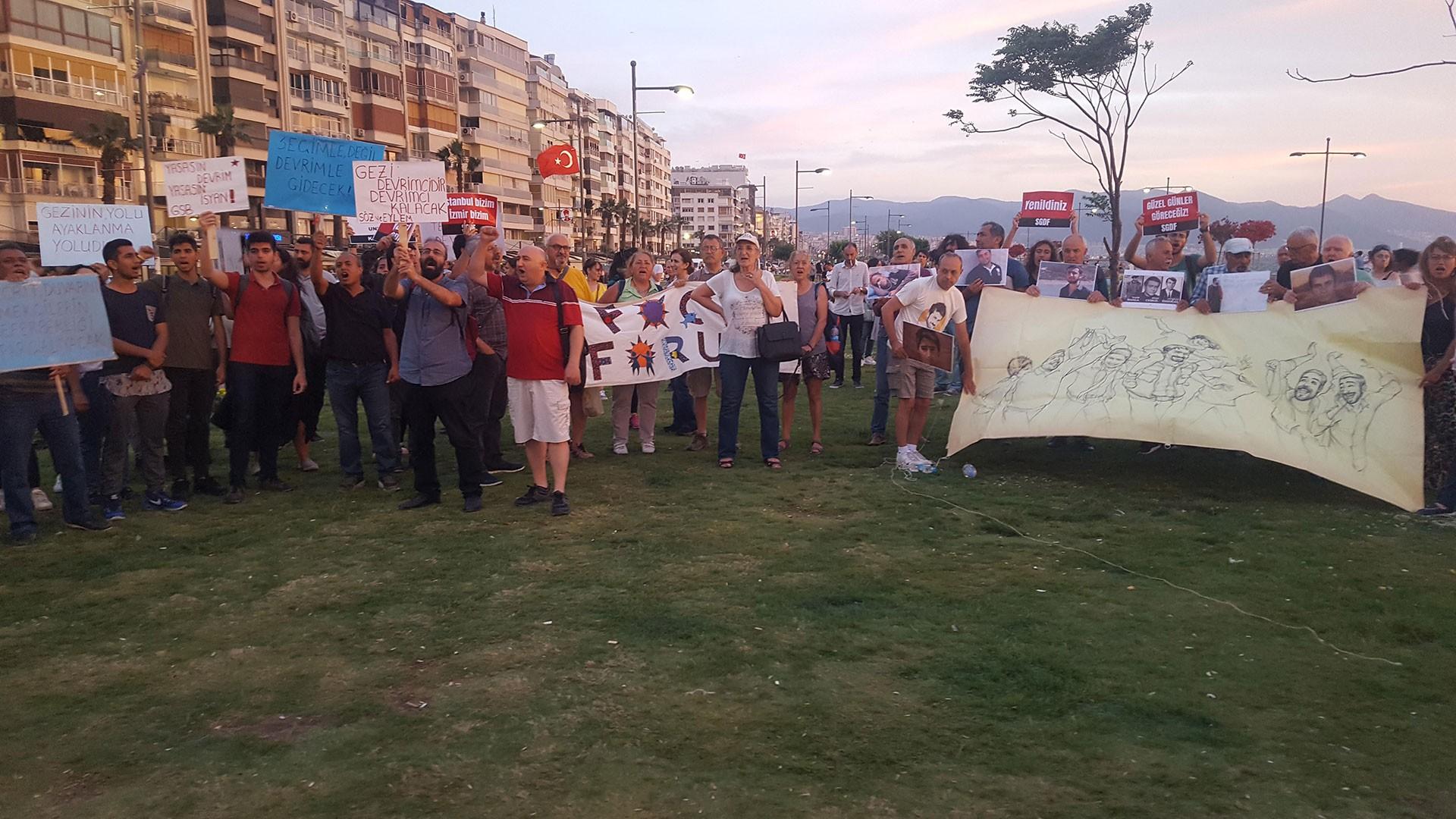 İzmir Gezi 6.yılı anma