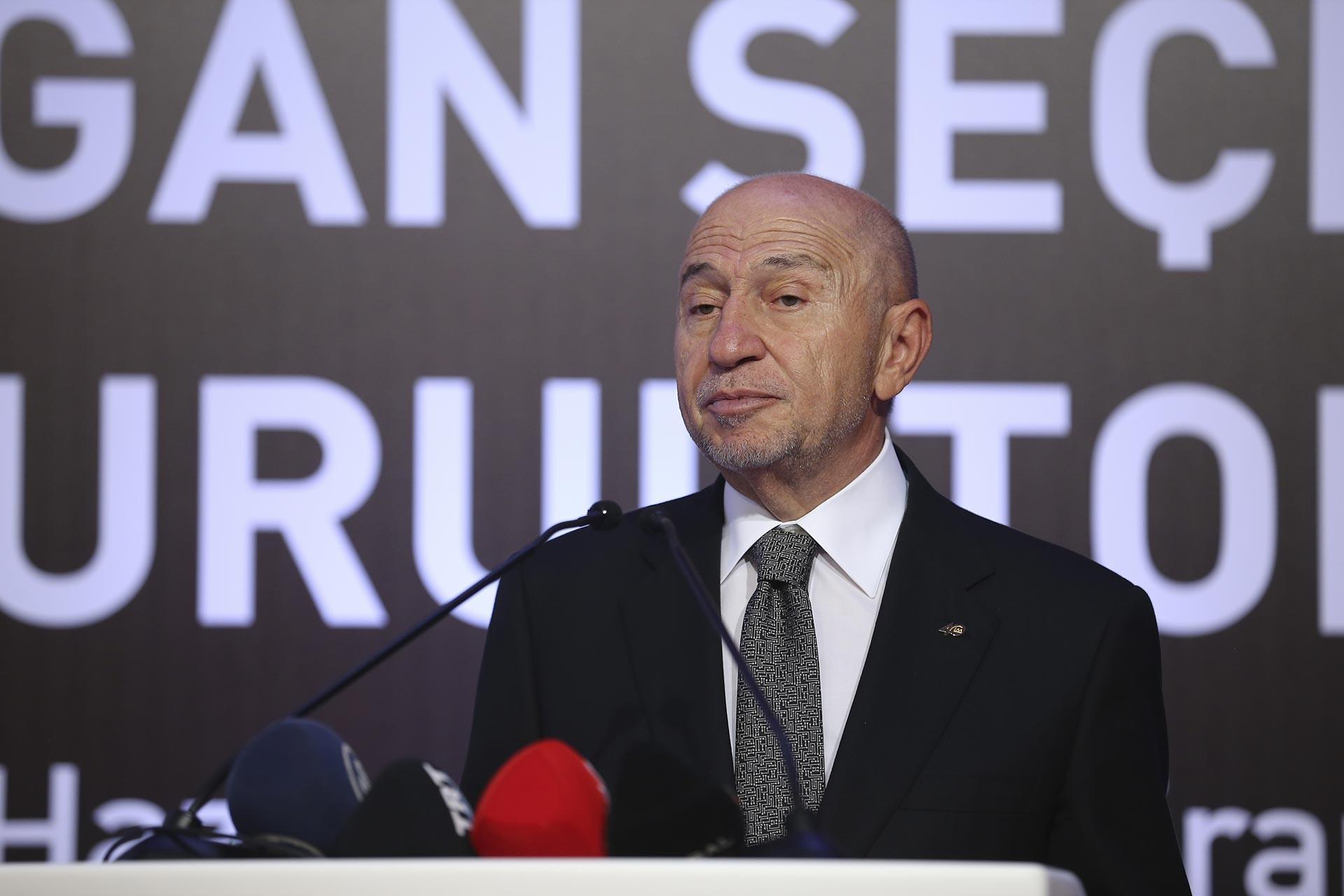 Türkiye Futbol Federasyonunun (TFF) yeni başkanı Nihat Özdemir oldu