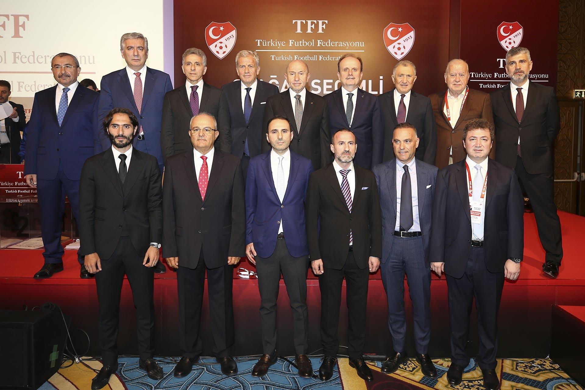 TFF yeni yönetim kurulu belirlendi