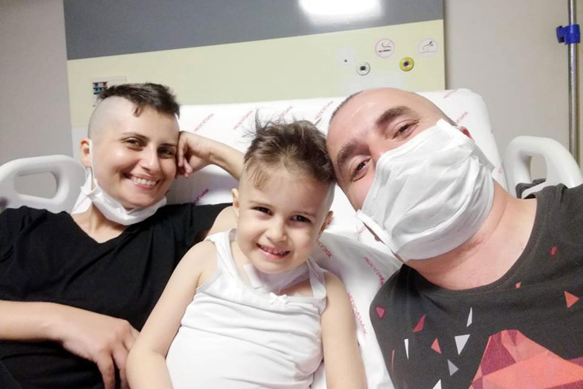Öykü Arin'e bu kez babadan ilik nakledildi: Donör olun, umut olun