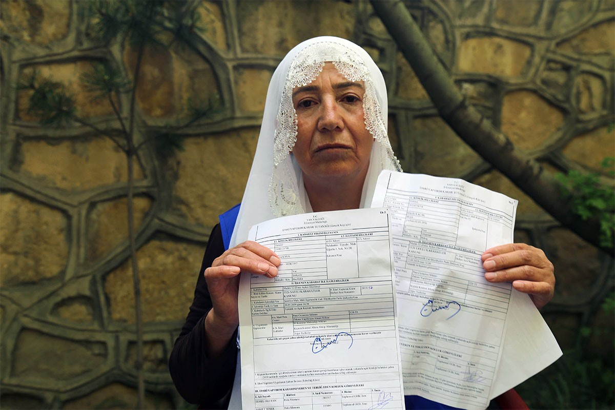 'Çocuklarımız ölmesin' diyen annelere para cezası