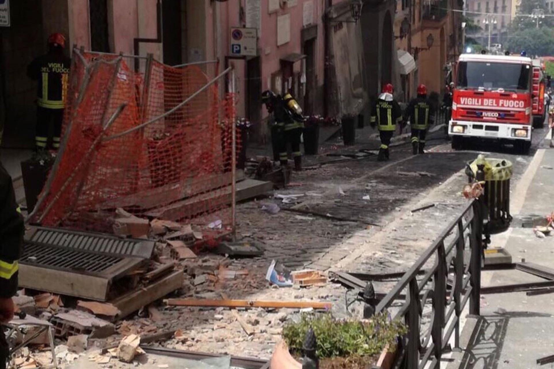 İtalya'da gaz patlaması: Belediye başkanı ve 8 kişi yaralandı