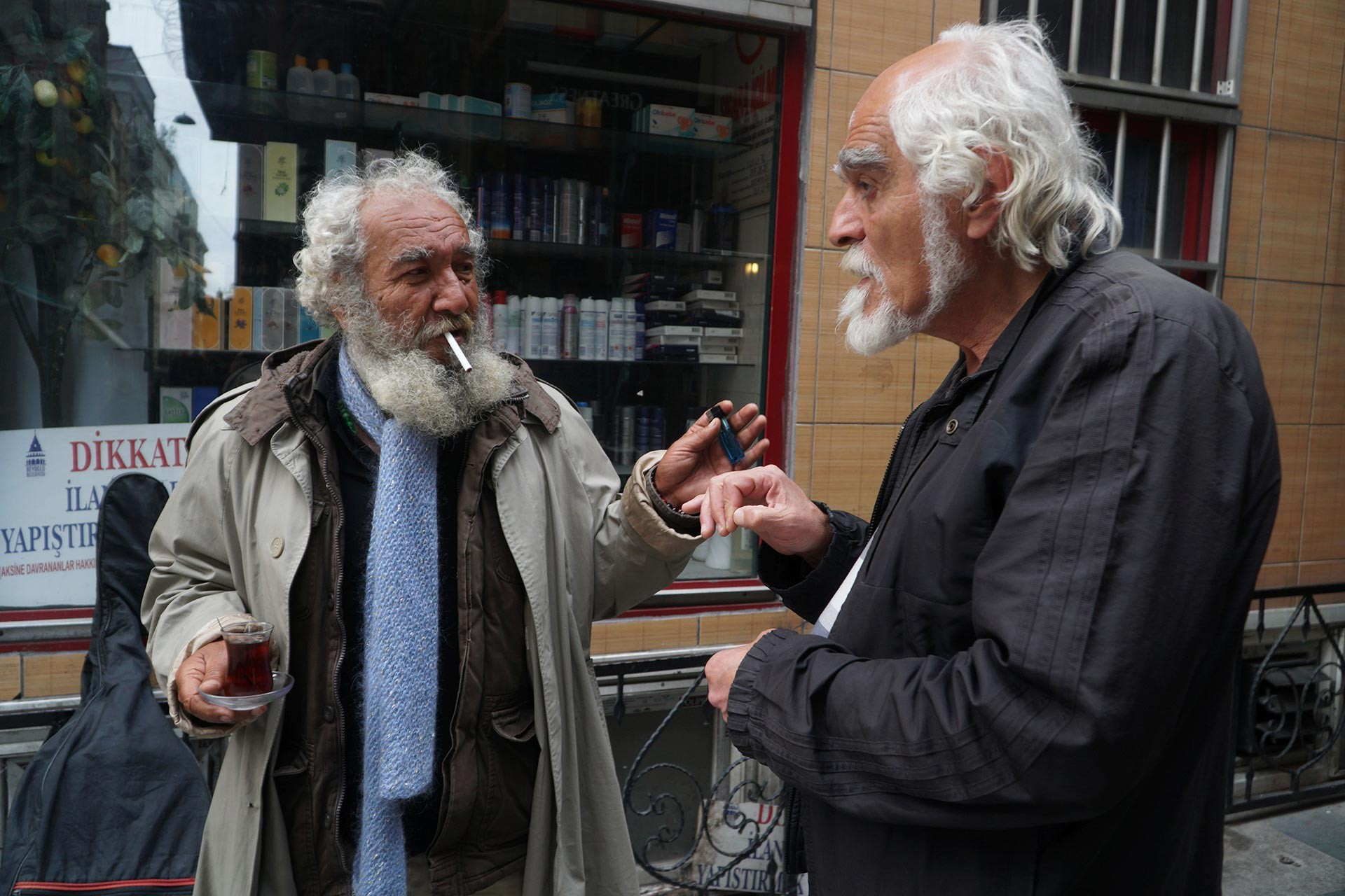 Papaz Kazım ve Erol Erbil