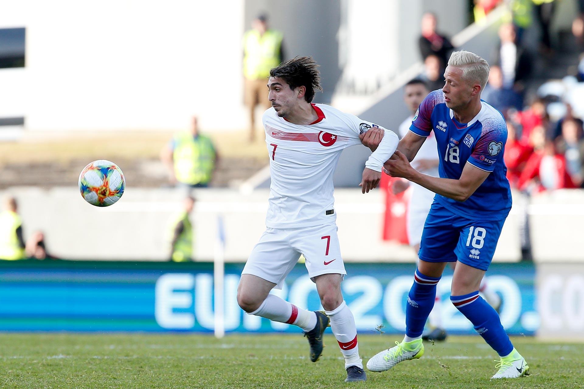Trabzonspor'un genç oyuncusu Abdülkadir Ömür, İzlanda maçında oyuna girdikten sonra etkili oldu.
