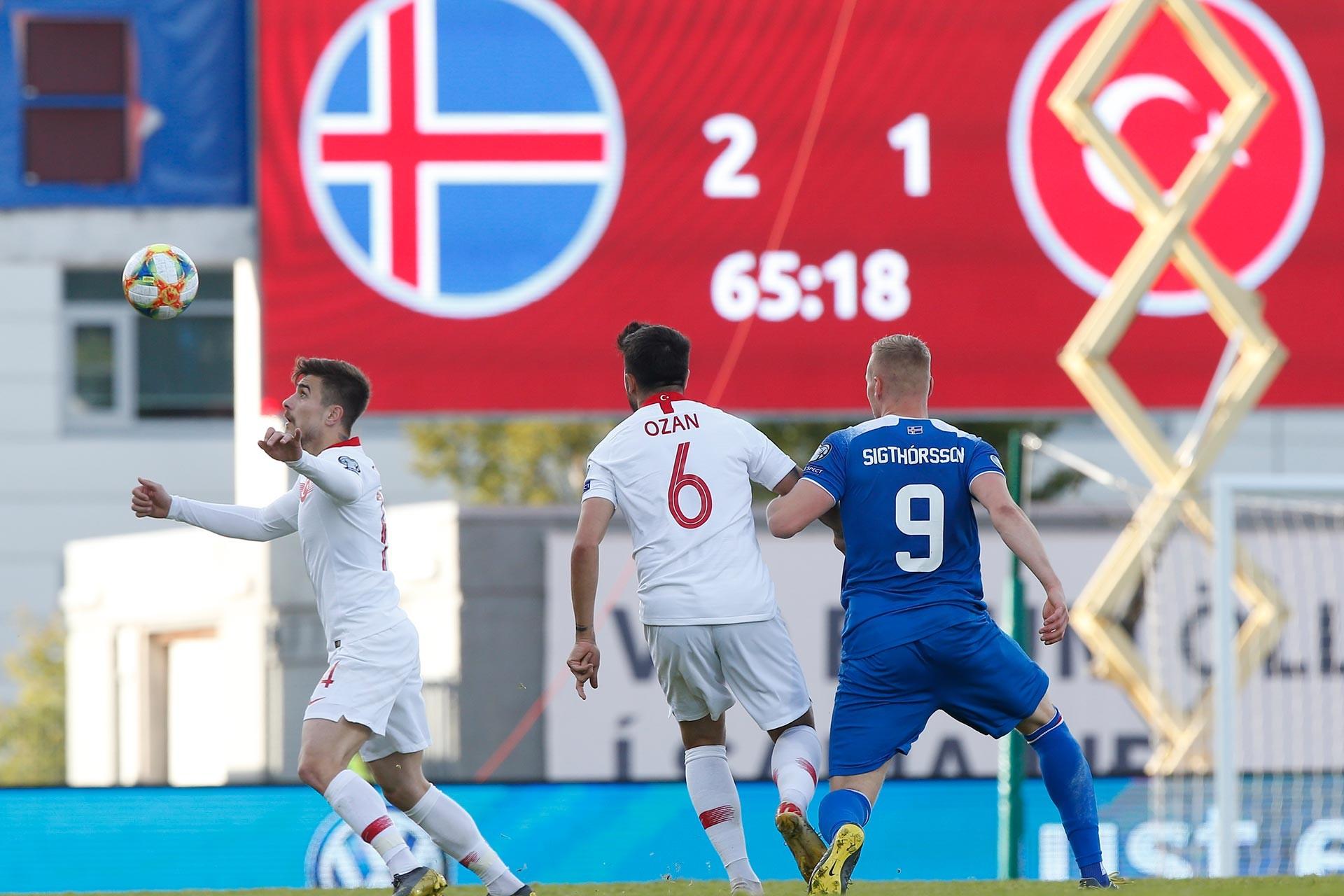 Beşiktaş'ın genç futbolcusu Dorukhan Toköz, İzlanda karşısında milli takım formasıyla ilk golünü attı.