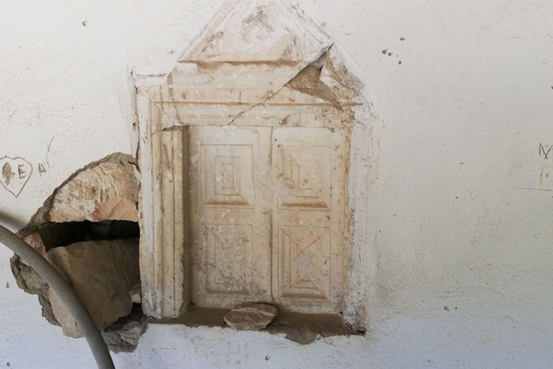 Bizans dönemine ait olduğu düşünülen eserler tahrip ediliyor