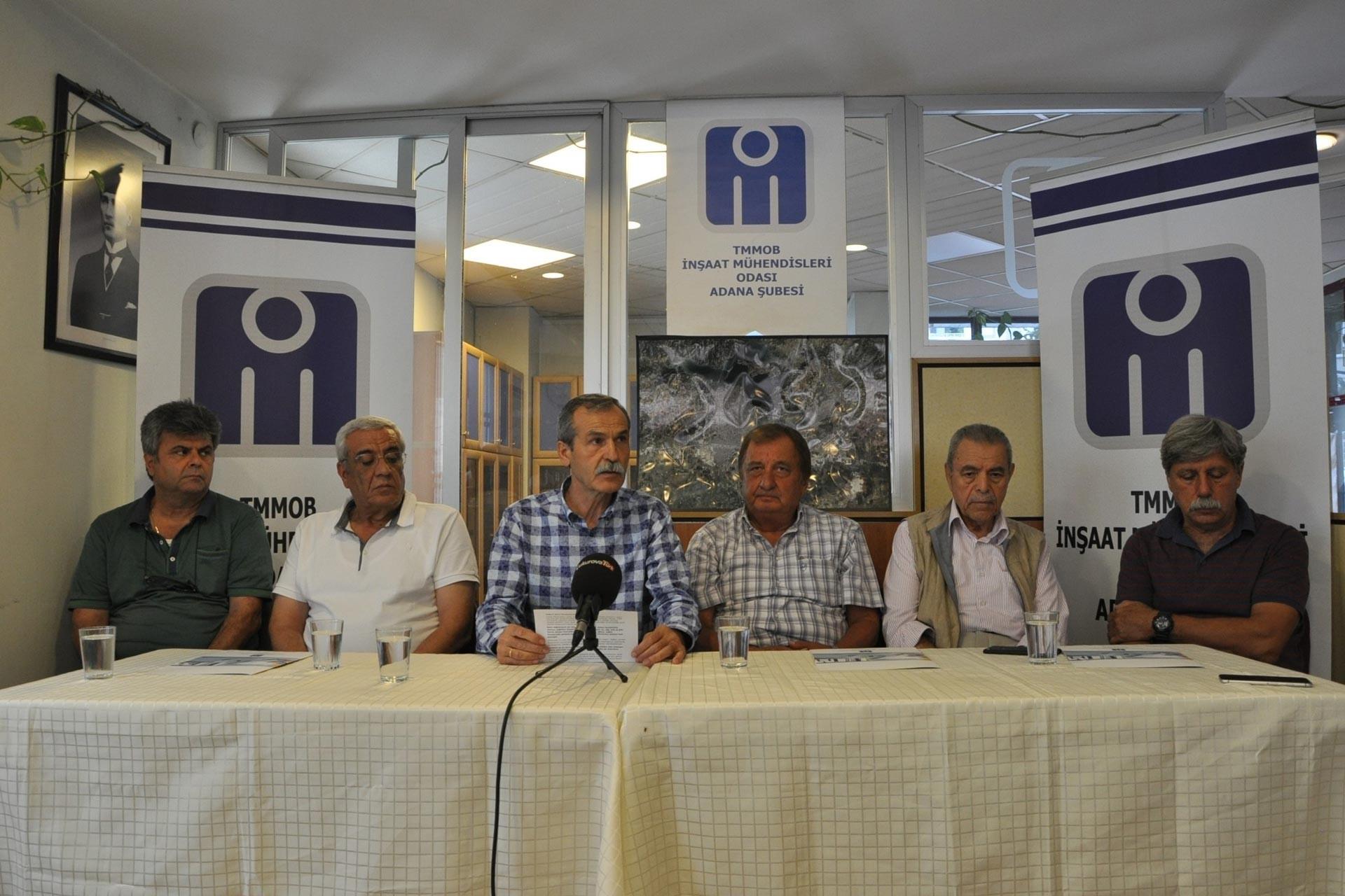 İMO Adana Şubesi: Yeni yönetim, belediyedeki adrese teslim ihaleyi incelesin