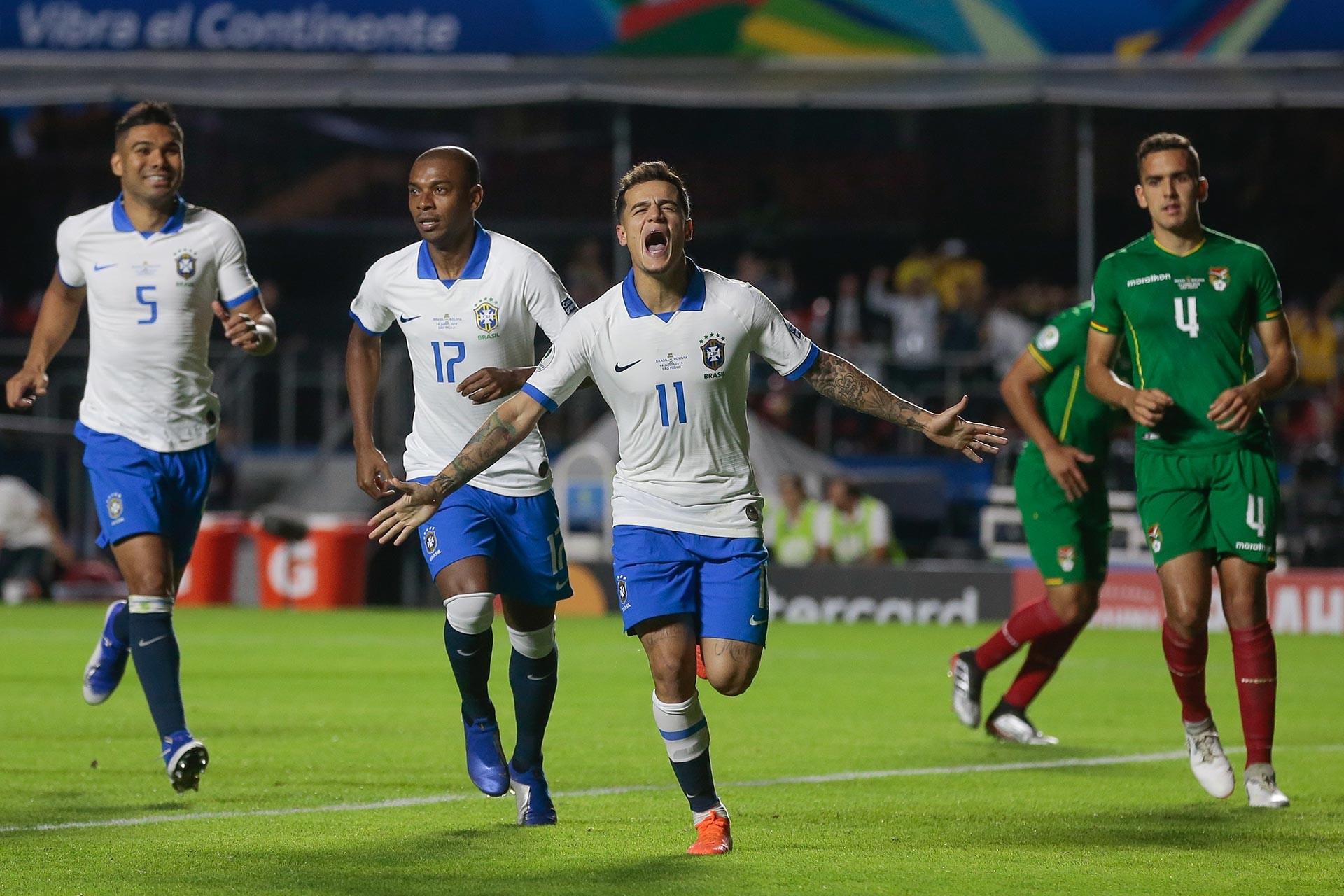 Brezilya, Kupa Amerika'nın açılış maçında Bolivya'yı 3-0 yendi