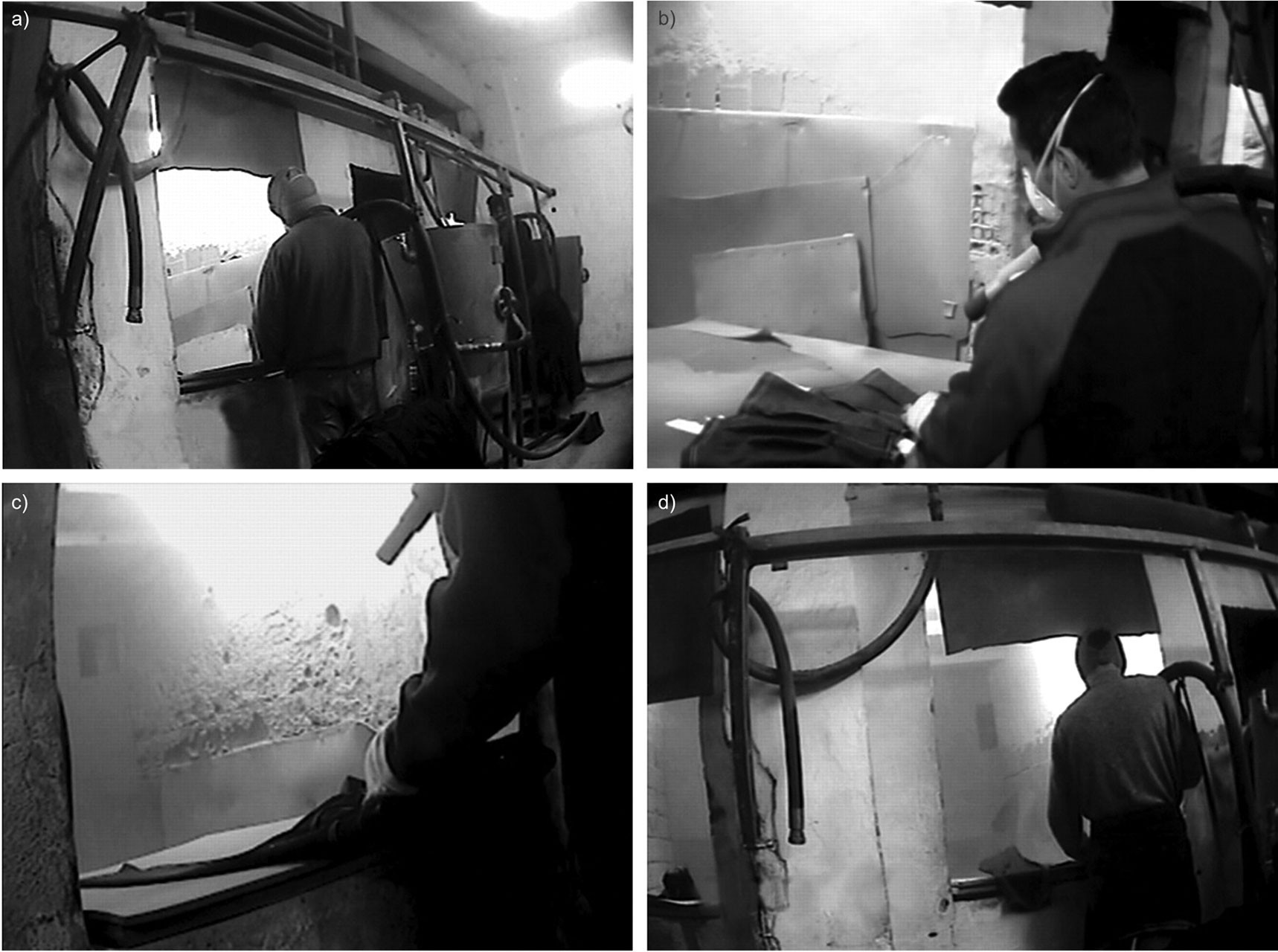 Kot taşlama işçileri
