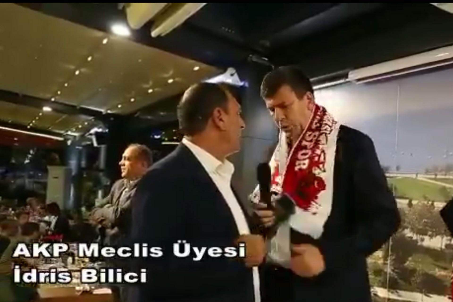 """AKP'li meclis üyesi, Odabaşı'yı """"Yemeği ben verdim"""" diyerek konuşturmadı"""
