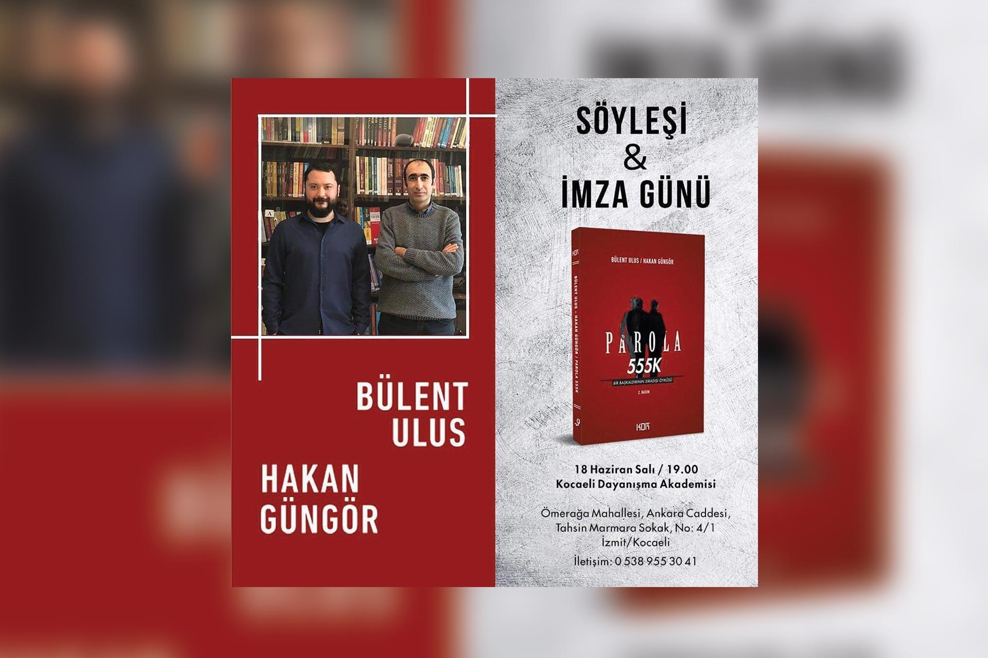 'Parola 555K' için Kocaeli'de imza günü düzenleniyor