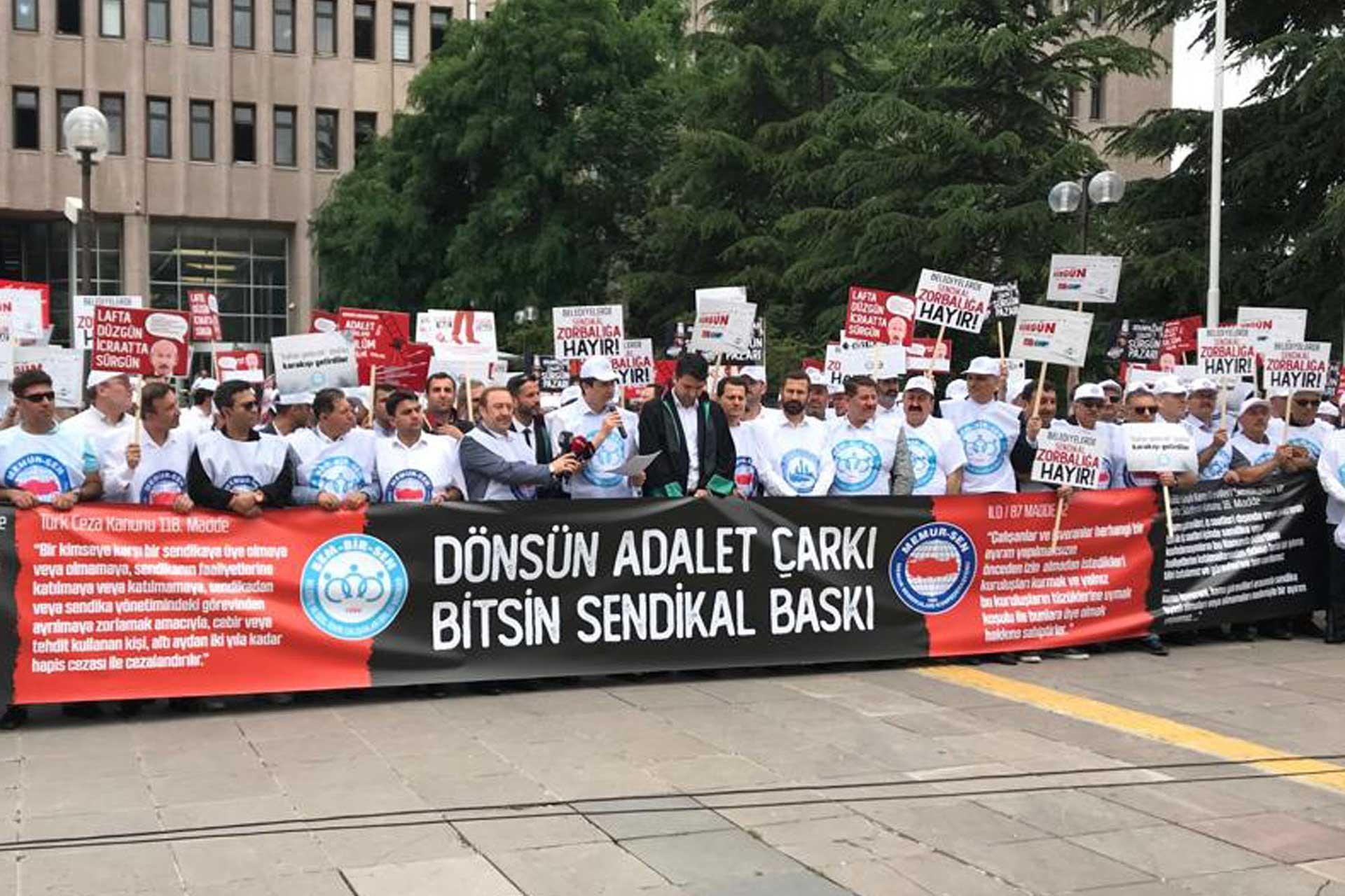 Memur Sen'den CHP ve HDP'li belediyeler hakkında suç duyurusu