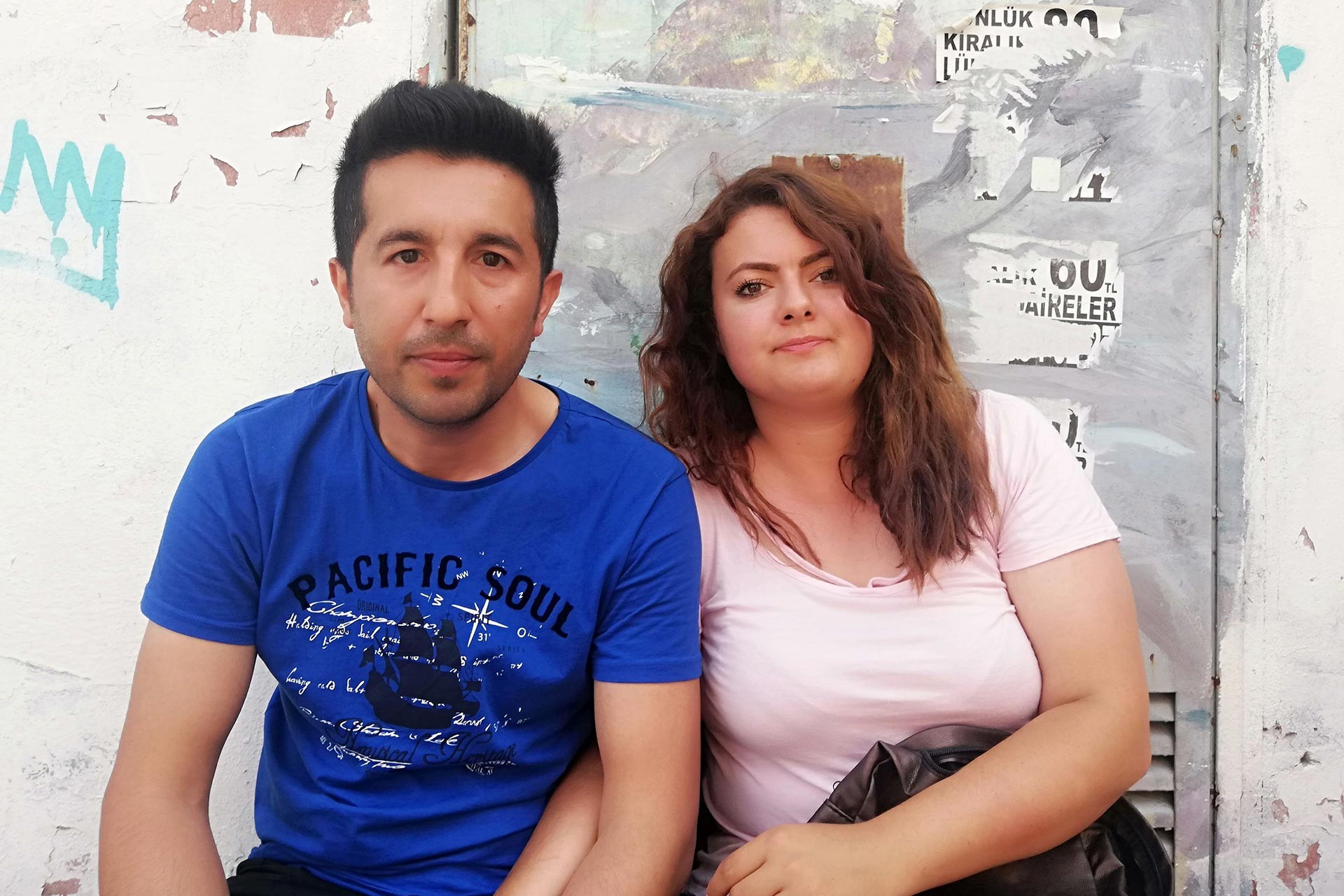 Beylikdüzü Posta Dağıtım Merkezinden atılan Orhan Erdoğan ve Elif Erdoğan çifti