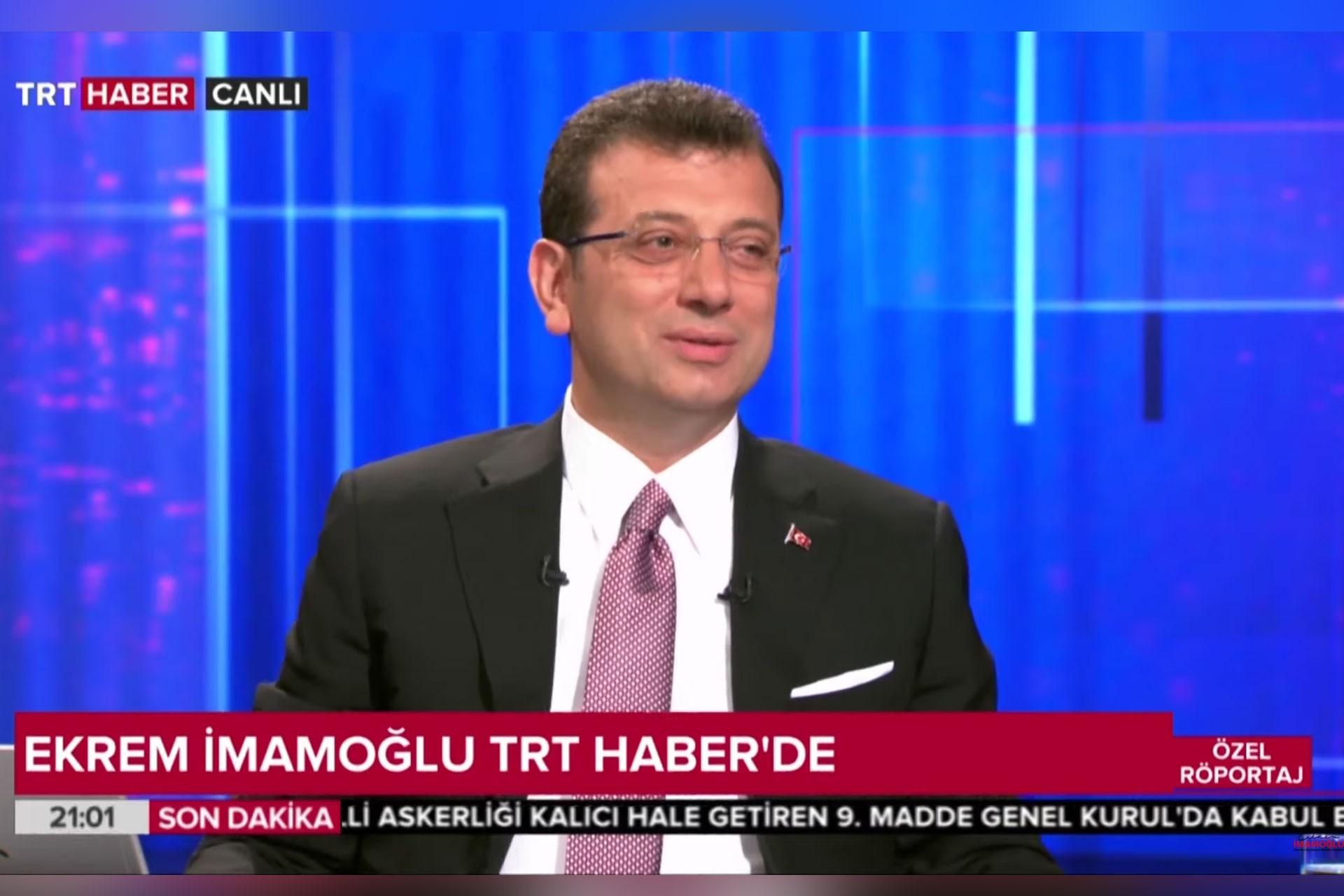 Ekrem İmamoğlu'dan TRT'ye 'sansür' tepkisi: Adil olduğunuzu düşünüyor musunuz?
