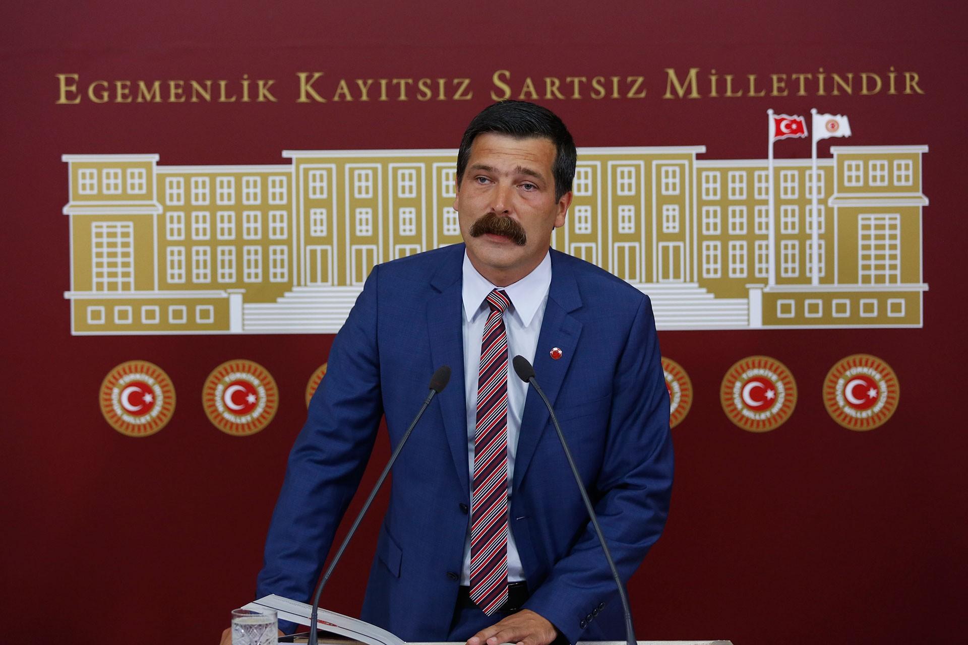 Erkan Baş'tan sandığa çağrı: AKP'nin karanlığına 'dur' demek için oy vereceğiz