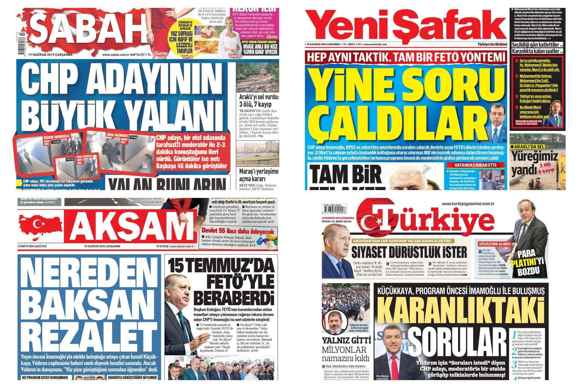 Genel Yayın Yönetmeni Tayyip Erdoğan | 'Yarın medyada' dediği haber manşetlerde