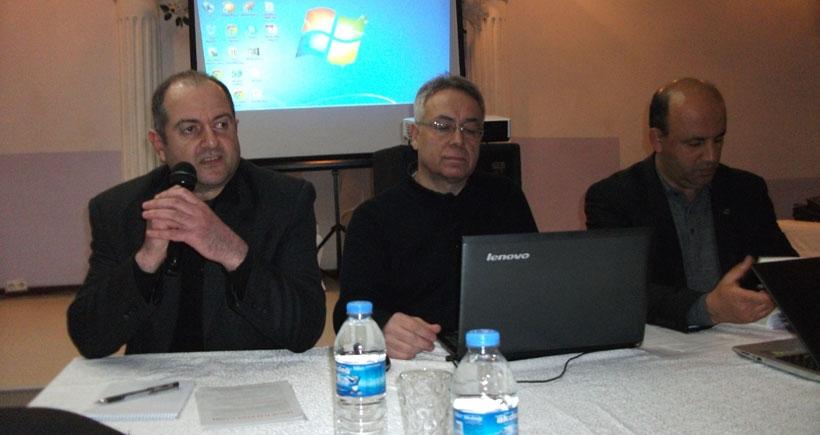 Sinop'ta nükleer karşıtı panel