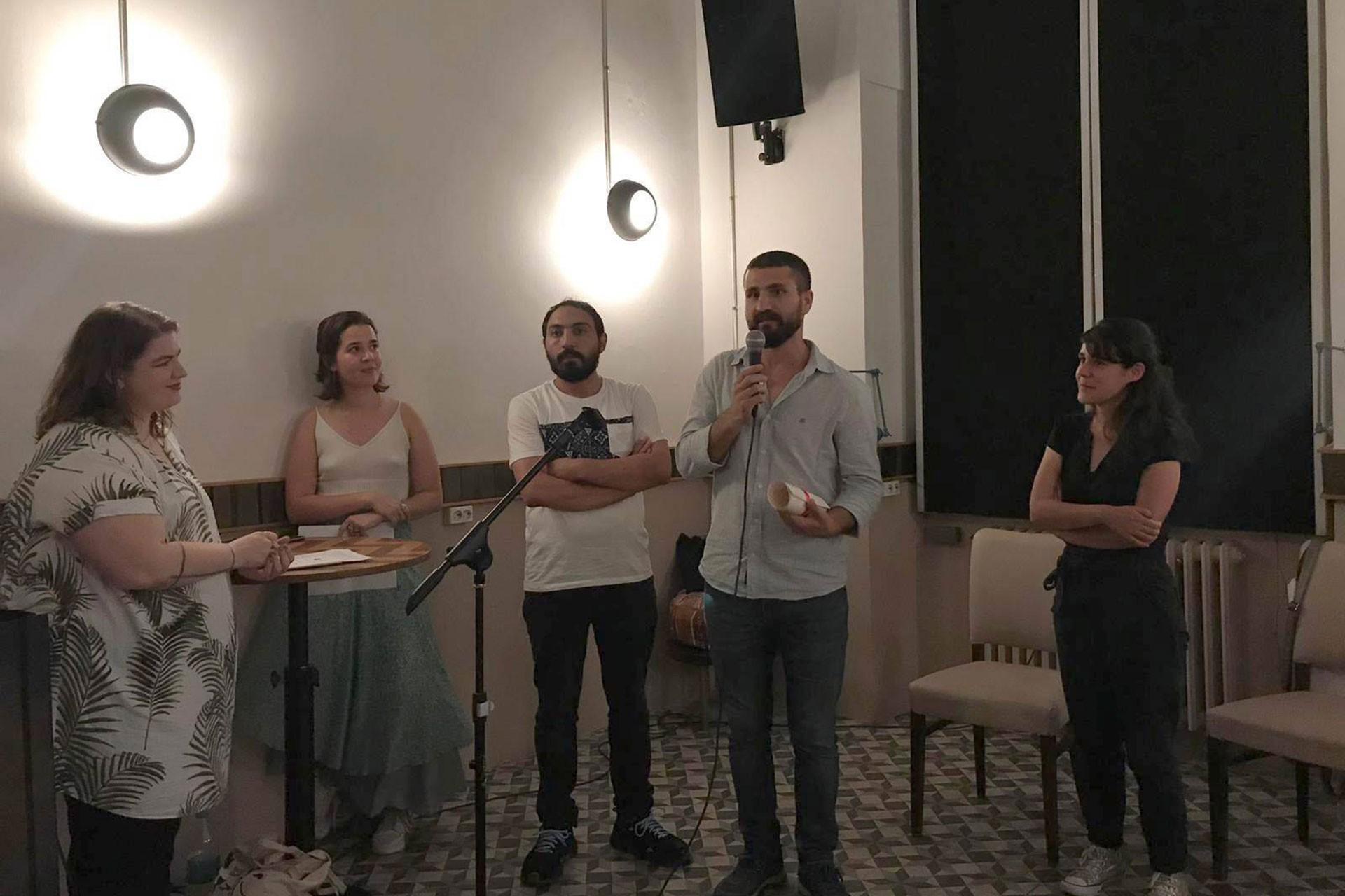 'Yeni Yetenek Ödülü' Yönetmen Ardin Diren'e verildi