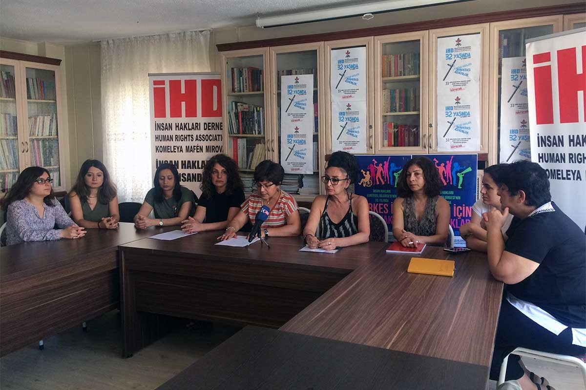 İHD Kadın Komisyonu: Halfeti'de kadınlara cinsel işkence uygulandı
