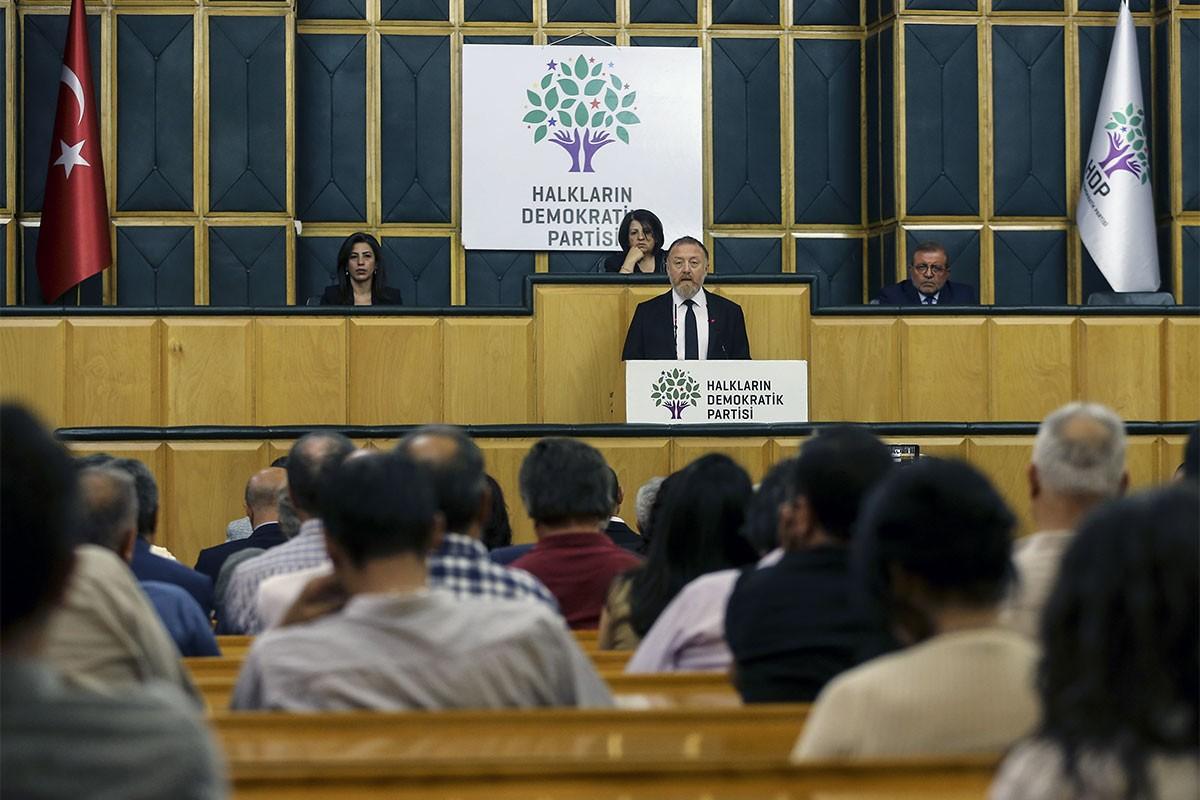 HDP'nin masasında demokrasi ittifakı var