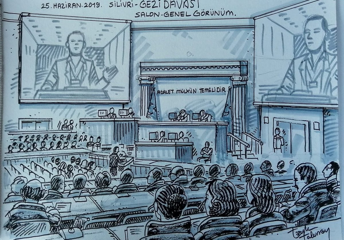 Gezi Protests trial indictment collapsed