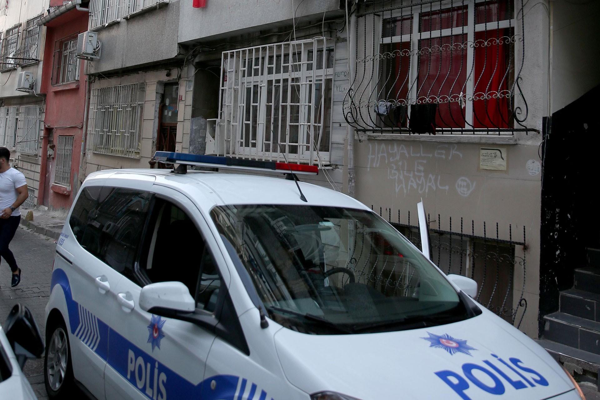 Fatih'te Tacikistanlı bir kadın işkence edilerek öldürüldü