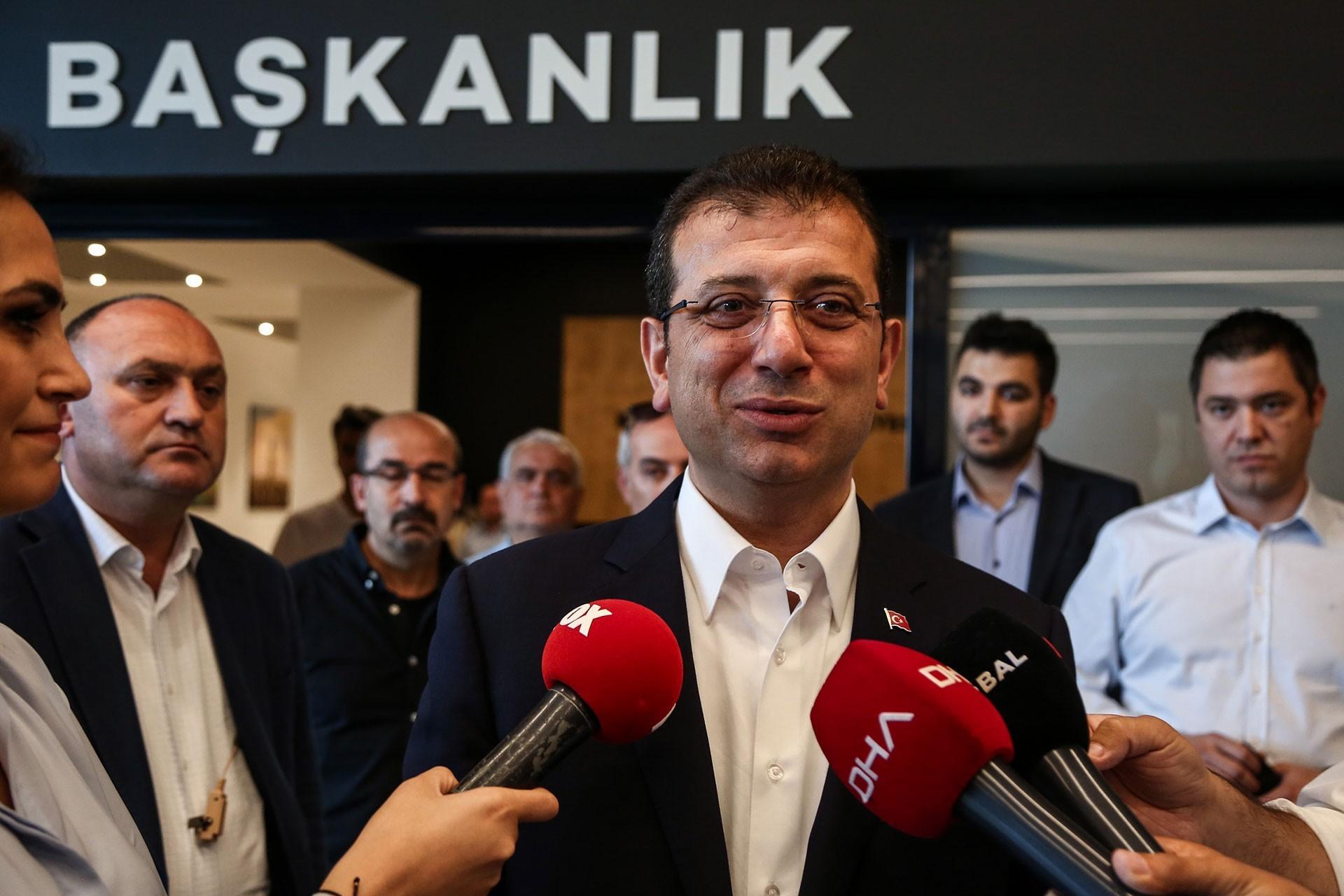 İmamoğlu'ndan istifa açıklaması:  Pazartesi günü kendilerini çağırdım