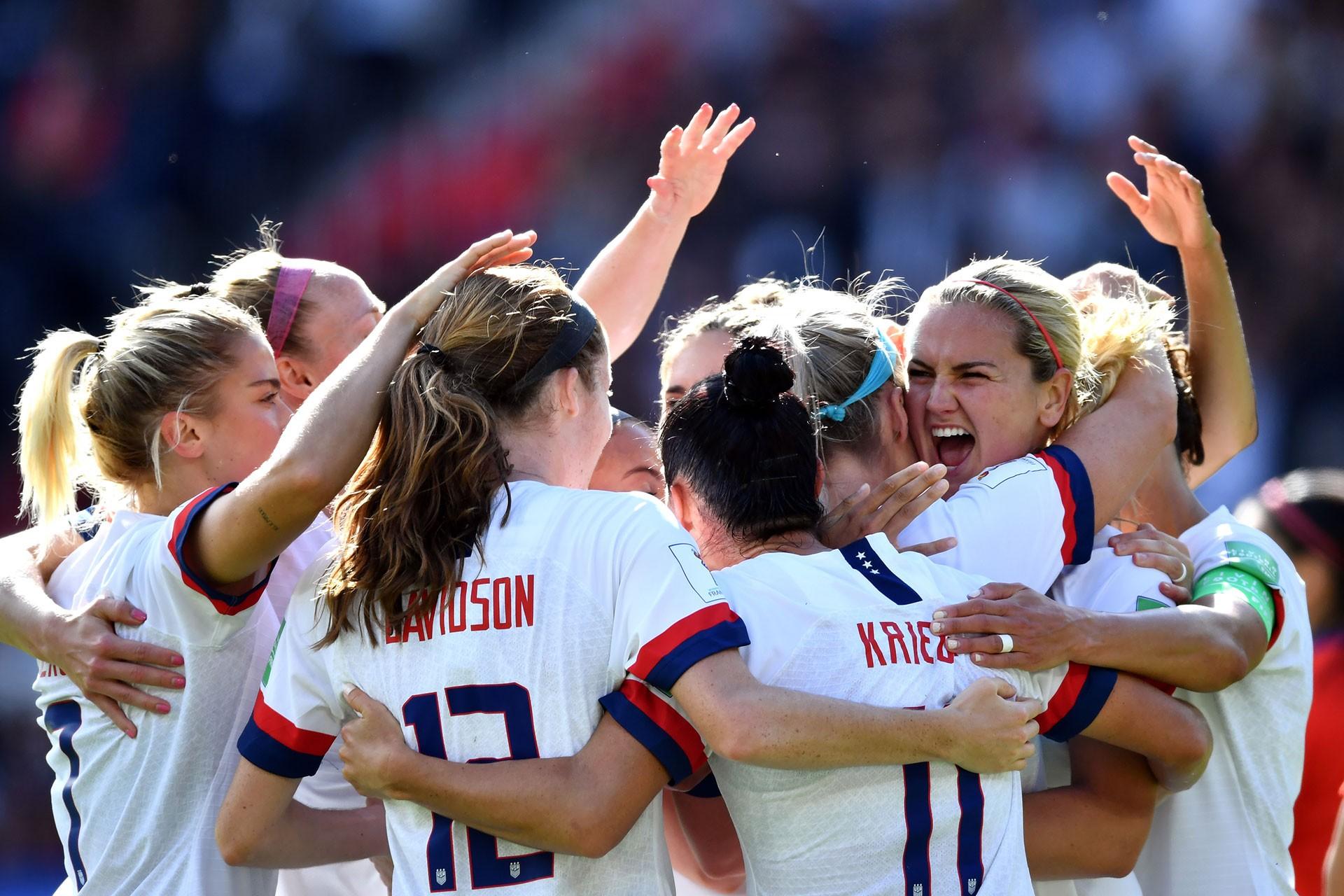 ABD milli takımı 8. Kadınlar Dünya Kupası'nın da favori takımlarından biri