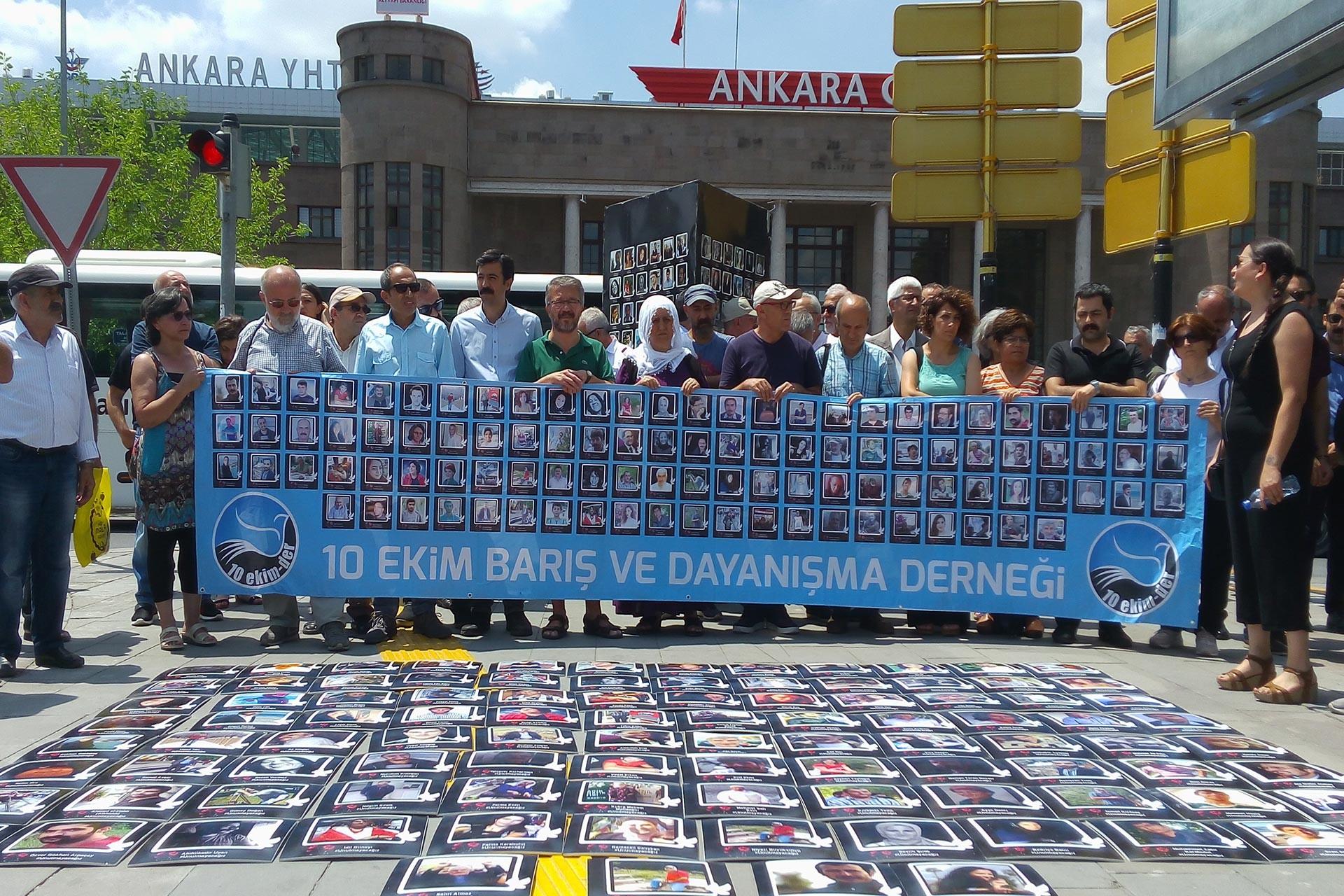 10 Ekim Katliamı'nda 'insanlığa karşı suç' tespiti